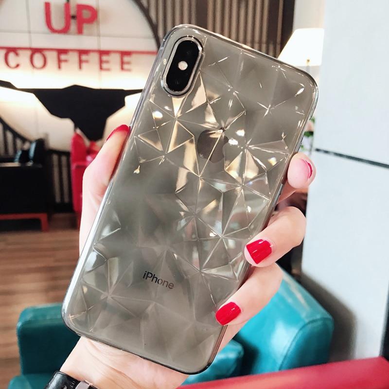 Diamond Case For Samsung Galaxy S10E S8 S9 S10 Plus M10 M20 J8 J4 J6 A8 A6  Plus A7 2018 J3 J5 J7 Note 9 8 Silicone Soft TPU Case