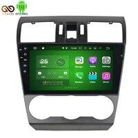9 inç 2 GB RAM Android 7.1 Tablet PC Için Araba DVD Oynatıcı Subaru Forester 2014 2015 2016 Dört Çekirdekli Araba Stereo Radyo GPS Navi