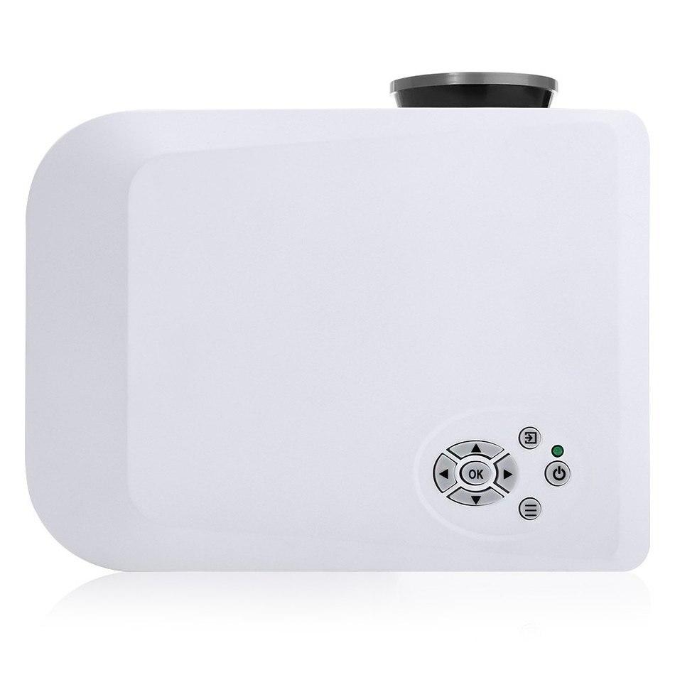 Original H809 Portátil Proyector LED 1000LM 800x600 Píxeles para Salas de Baile