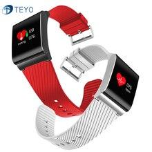 Teyo Спорт Smart Band X9 Pro крови Давление монитор сердечного ритма вызова напоминание Wateproof Pulsera inteligente SmartBand Android IOS