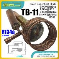 Tb-11 fixou a válvula de expanision do ajuste do superheat tem a equalização interna da pressão  cabeça térmica quente fornece a melhor confiabilidade