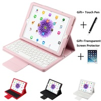 Magnetic Detachable Bluetooth Keyboard Leather Stand Case For iPad Mini 12345 iPad 2017 2018 9.7 Pro 10.5 11 Air 10.5 iPad 10.2