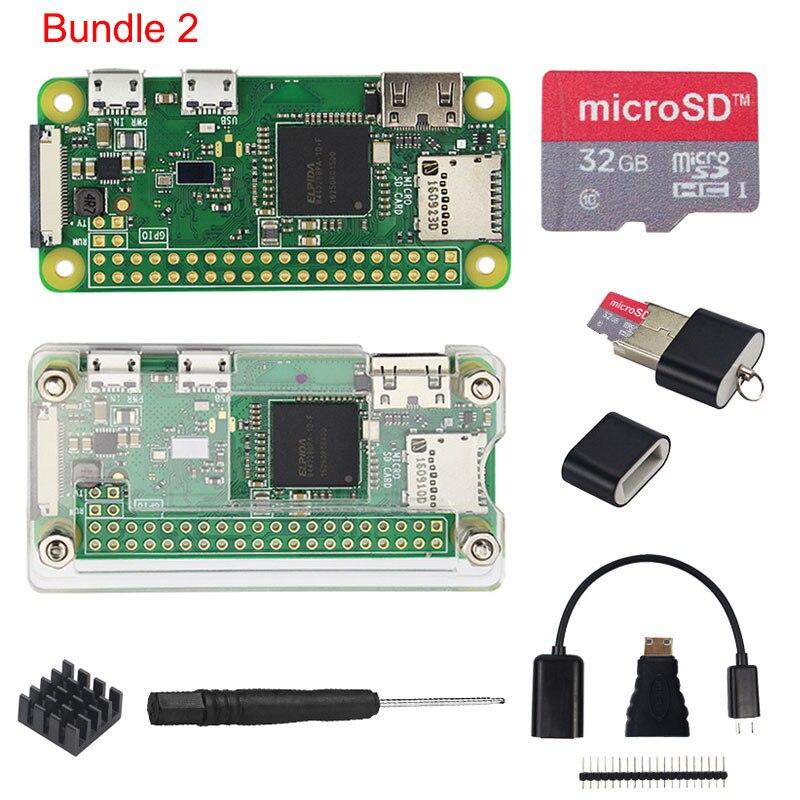 Raspberry Pi Zero W //Zero Starter Kit Accessories with HDMI Adapter USB Cable EL