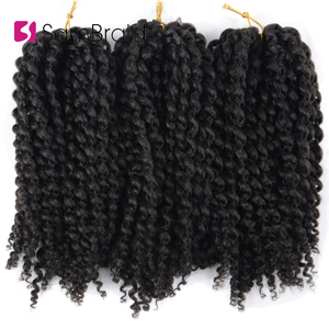 SAMBRAID Afro Kinky Curly Croc