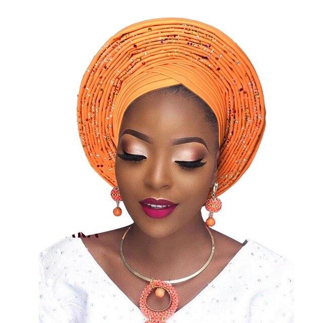 nigerian auto gele african headtie aso oke headtie headtie aso ebi head  wrap african turban headband gele headwear a5d000ab4fb