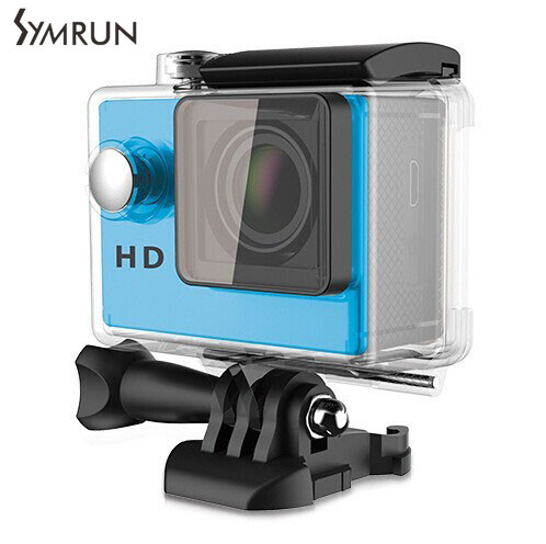 Symrun 4 K Cámara de La Acción Con 2.4G Control Remoto Full HD Go Pro Cámara de