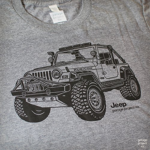 New Arrival Fashion Men T Shirt Printing Garage Project - Jeep t shirt design
