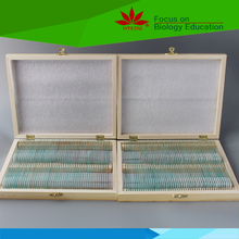 Fixed set hot selling Science and Teaching Learning 200 pieces prepared slides