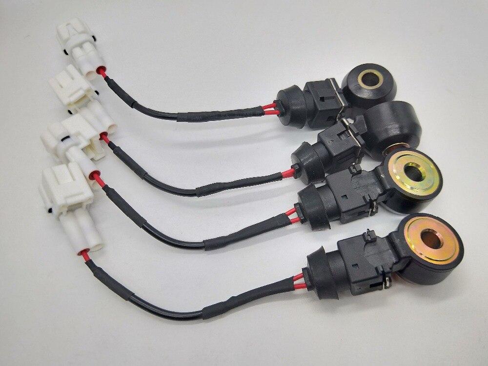 SMD 4 ピースエンジンノックセンサー 22060 AA070 22060AA070 KS98 5S2294 SU4990 スバルレガシィインプレッサのための 1 年間の保証  グループ上の 自動車 &バイク からの 爆発センサー の中 1