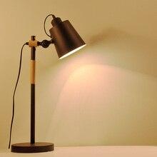 В исследование настольная лампа творческий северные чердак контракт личность американский чтение вход дерево искусства спальня настольная лампа