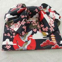 Women Multi patterns Kimono obi Belt shaped butterfly Festival suit Vintage Kimono Bathrobe Belts Cotton Robe Yukata obi D90301