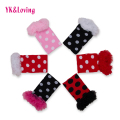 Polka Dot Printed Baby Leggings 2016 New Fashion Girl Socks Ruffles Lace Leg Warmers Clothing  Cotton Soft Children Accessories