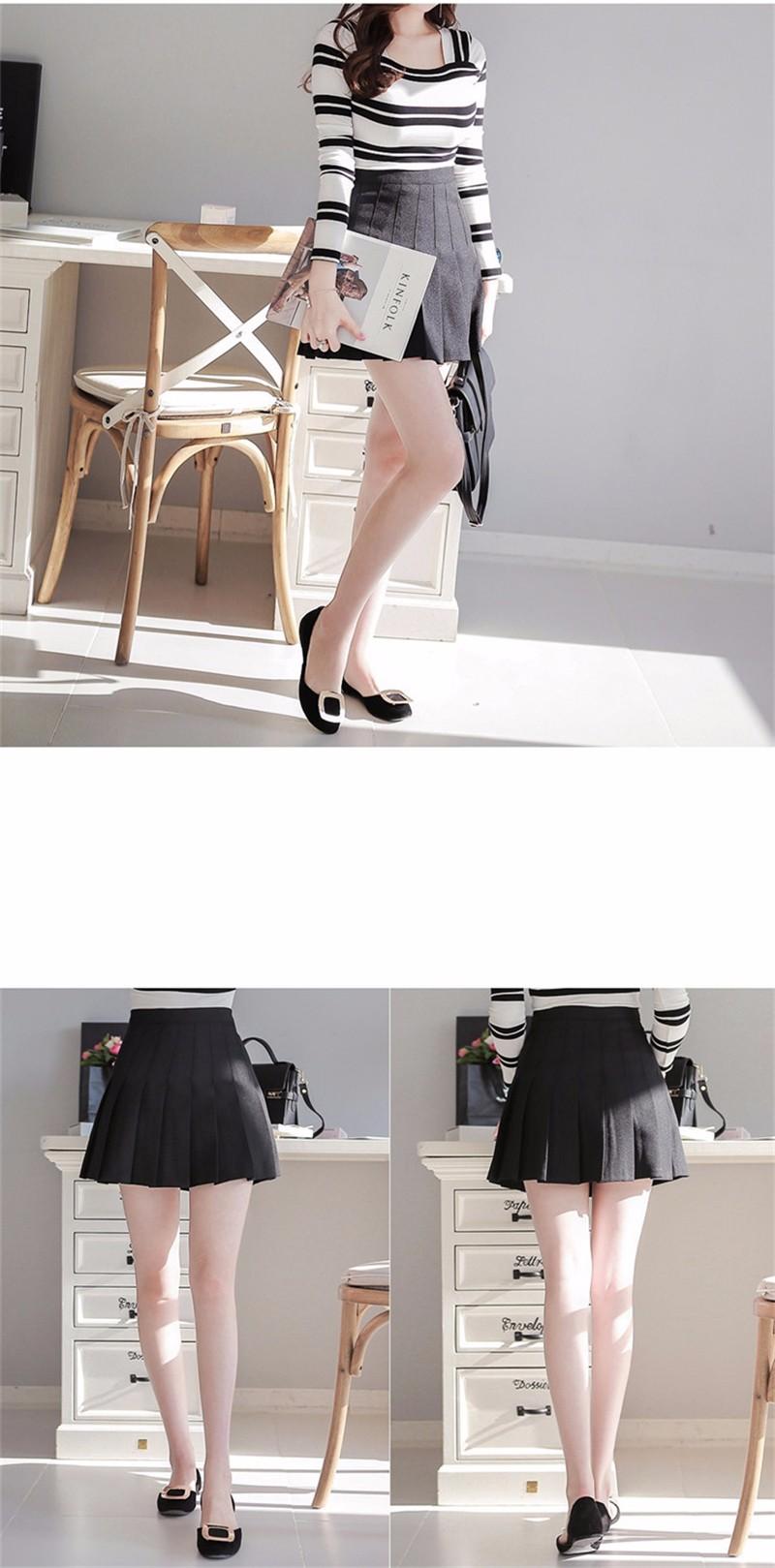 pleated skirt 04