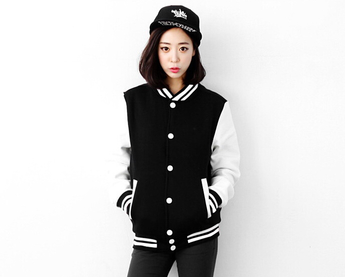 Letterman jacket women