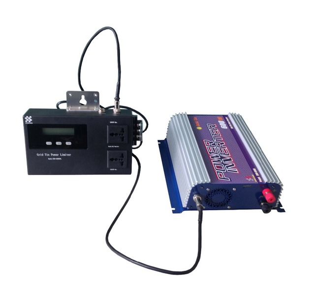 New invention,500W Grid tie inverter with Limiter.The Limiter can prevent excess power go to the Grid.