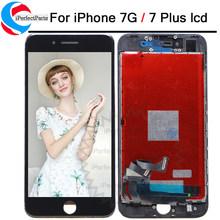 AAA+ LCD For iphone 7 Display Touch Screen Digitizer Good 3D Replacement Full Assembly for iPhone 7 Plus lcd With Tools Kit(China)