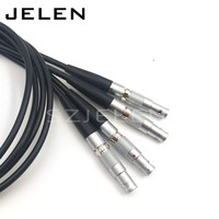 SZJELEN 00B 5 pin, weld with 0.7 meter cable, voice frequency connector, cable plug, MINI connector(including cable)