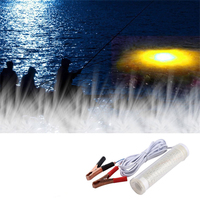 104PCS LED Underwater Submersible Night Fishing Light Tackle Water Crappie Shad Squid For Boat Docks Piers