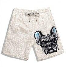 99f5f67761 Mens Dog Print Swimwear Trunks Beach Board Shorts Swimming Short Pants  Swimsuits