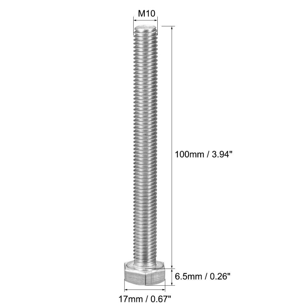 5 x Titanium Grade 2 Schrauben Screws DIN 912 M6 x 80