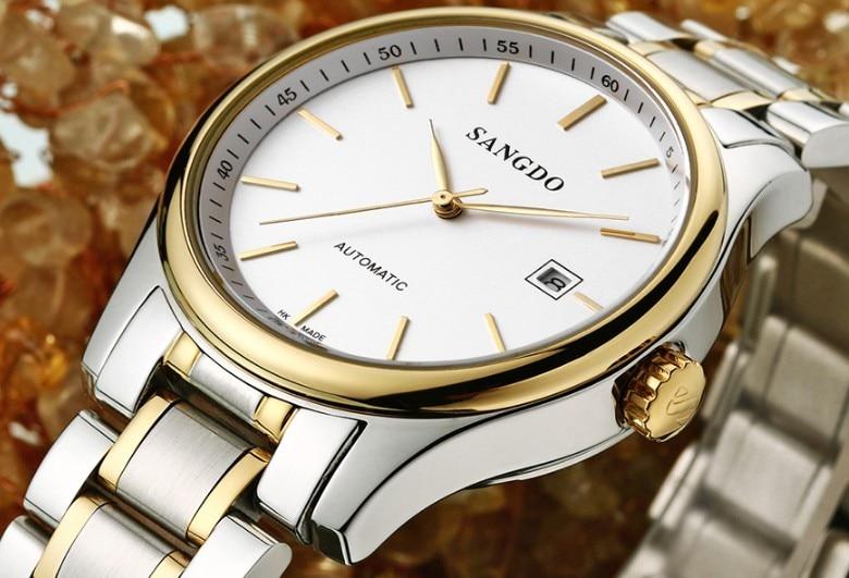 Мужские кварцевые часы до 38 мм сапфир ip