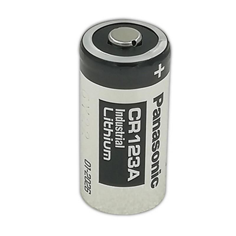 Lot 10 piles photo batterie 3V lithium CR123A CR123 DL123A EL123A PANASONIC
