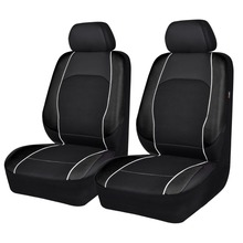 Car-pass 6 pieces 2 front car seat covers auto accessories interior goods pvc and sandwich for universal seats