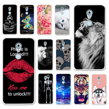 TAOYUNXI Cases For ZTE Axon 7 Mini Case 5.2 INCH Soft Silicone Back Covers Painted Bags Skins Shell Housings