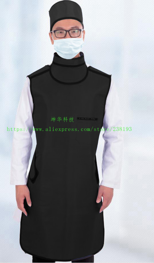 0 5mmpb X ray protective apron set with collar glasses hat hospital clinic Check machine protection