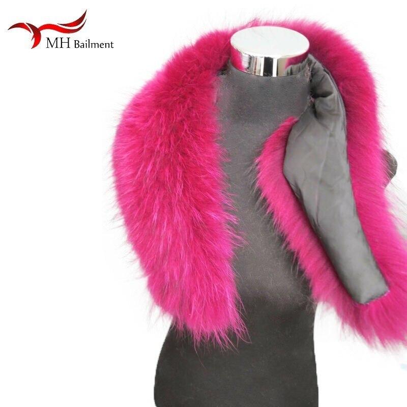 Fur scarf women's jacket jacket shawl fashion warm scarf best selling winter new real raccoon fur collar large size scarf