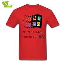 Vaporwave 95 Man T Shirt Fashion Classic Comfortable T-Shirt Men