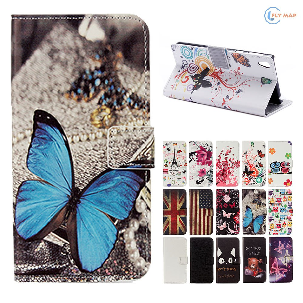 Flip Coque For SONY Xperia E5 LTE Wallet Card Phone Leather protector Case Cover For SONY Xperia E 5 F3311 F 3311 F-3311 Capa