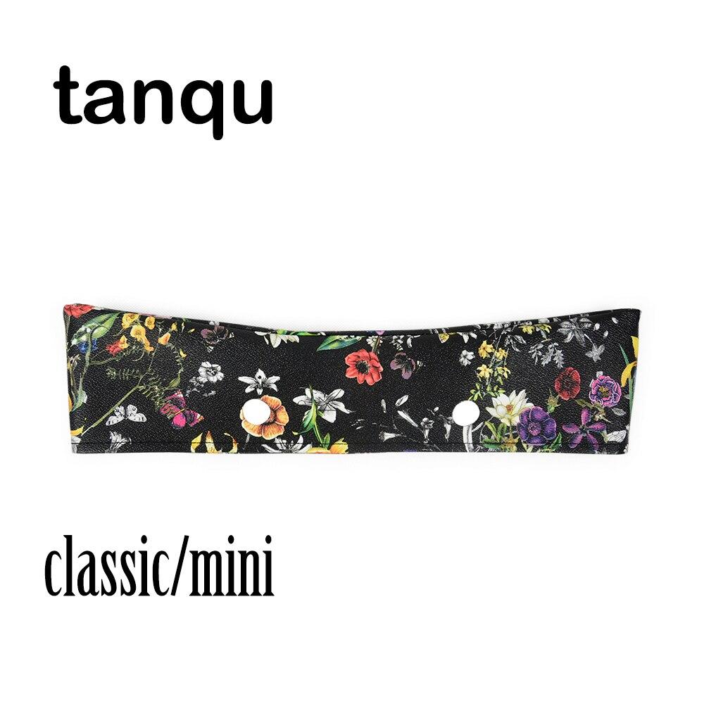 Decoração para Obag Floral para o Corpo Tanqu Guarnição Fina Bolsa Verão Clássico Mini pu
