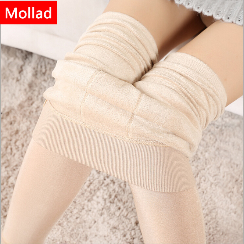 Mollad NOVO além de caxemira moda leggings mulheres meninas Inverno - Roupas femininas - Foto 5