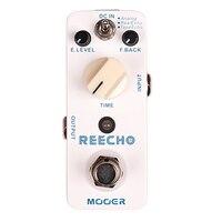 Mooer Reecho Delay Electric Guitar Pedal Effect True Bypass Effects