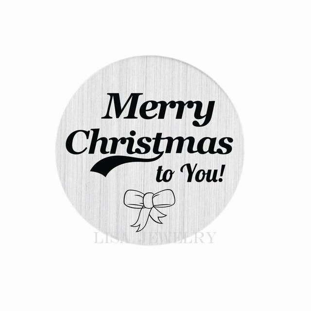 Schriftzug Frohe Weihnachten.Us 2 99 22mm Runde Schriftzug Frohe Weihnachten Silber Schwimm Charme Fenster Platten Schwimm Medaillon Zurück Platten Edelstahl Discs In 22mm