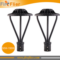 4pcs 50w 75w led area light 100w post top lamps 150w parking lot led lighting outdoor wall mounted street lights ip65