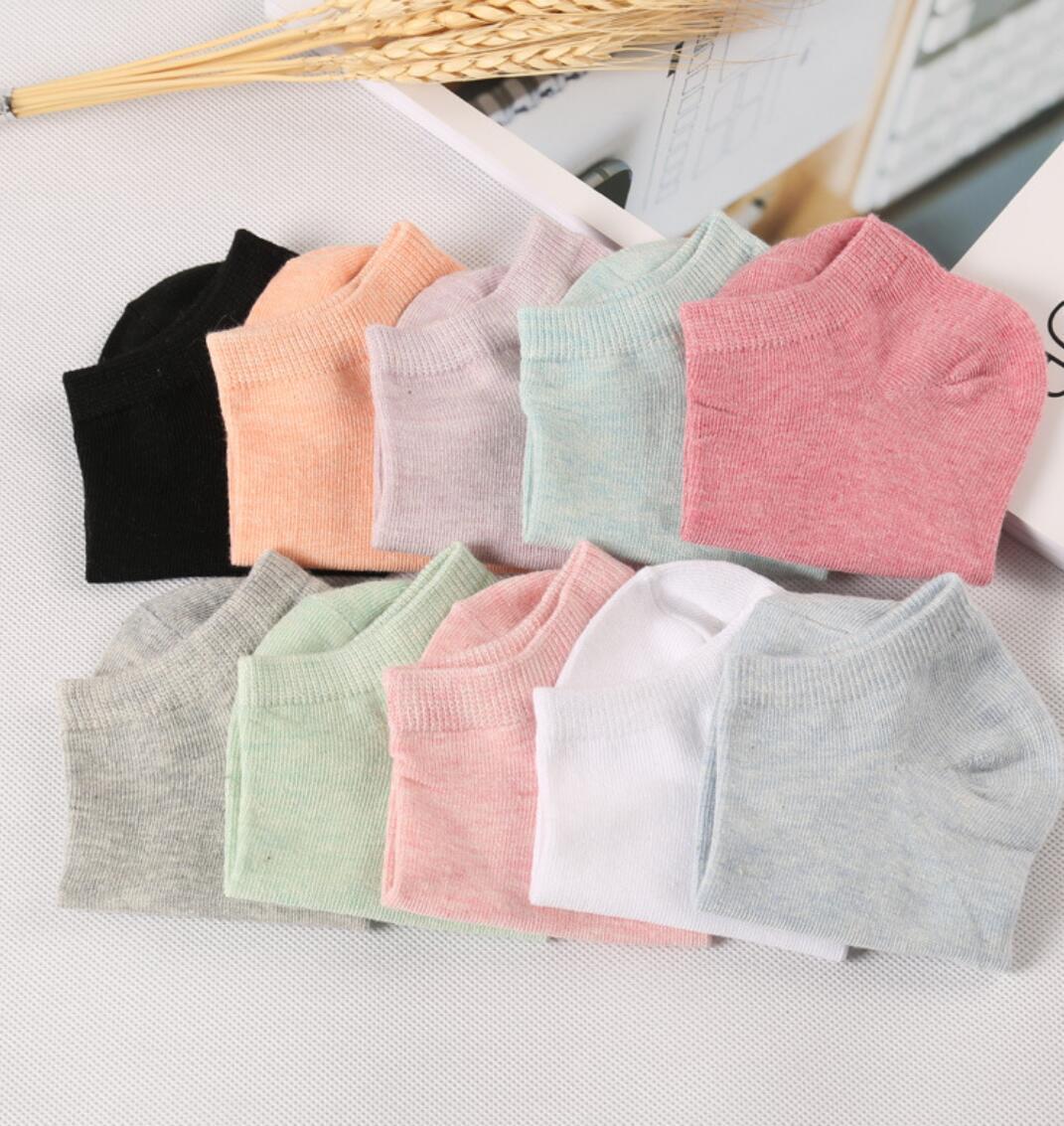 Nouveau 2018 Femmes de Chaussettes pur couleur décontracté sport coton sucer chaussettes de transpiration 9-88 chaussettes en coton Femmes chaussettes de K0911-01-K0911-06