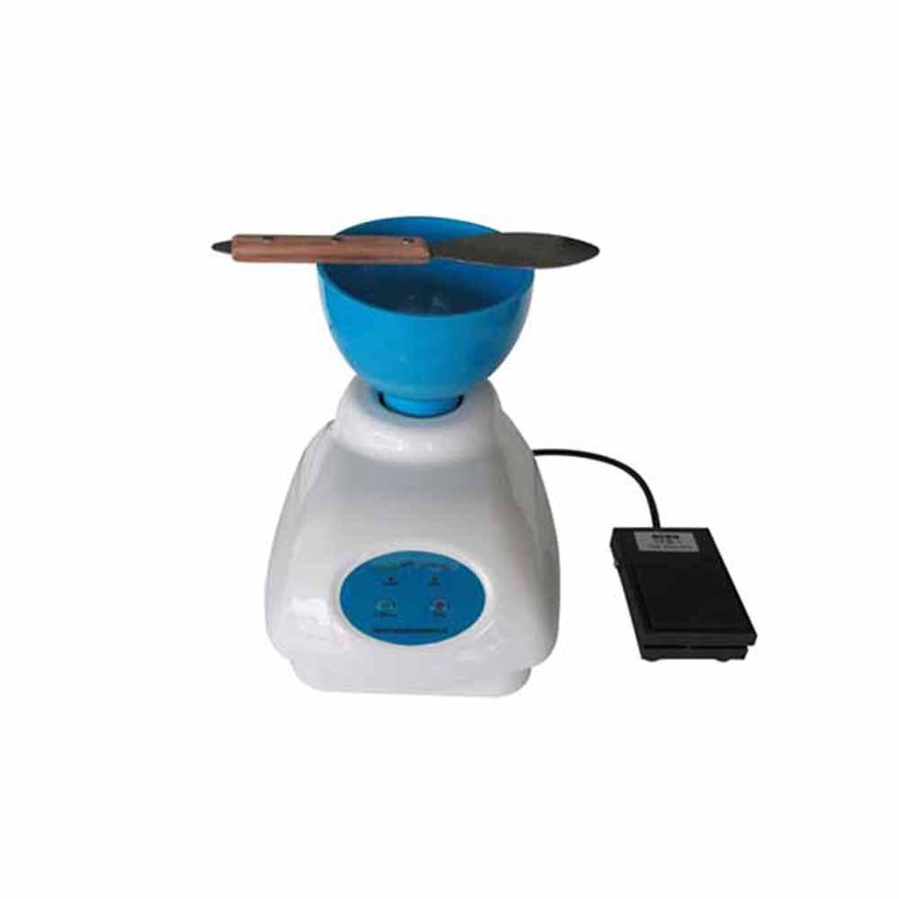 купить New Dental Lab Impression Alginate Material Mixer New+ Bowl + Foot Pedal Control HL-YMC 2 free shipping недорого