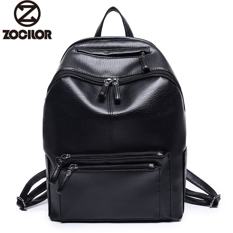 Women Backpack High Quality PU Leather Mochila Escolar School Bags For Teenagers Girls Vintage Top-handle Backpacks women backpack high quality pu leather mochila escolar school bags for teenagers girls top handle backpacks herald fashion page 5