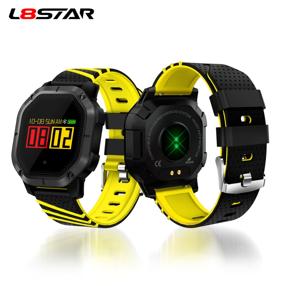 4252a5c932e L8STAR K5 Smart Watch Men Bluetooth IP68 Waterproof Passometer Heart Rate  Blood Pressure Fitness Tracker for IOS Android Phone