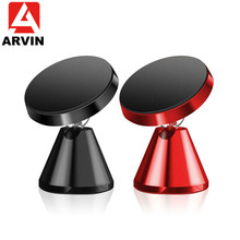 Arvin Universal Magnetic Car Phone Holder Stand in For iPhone X XR Samsung Magnet Mount Mobile Support GPS