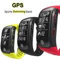 Deportes GPS banda inteligente IP68 impermeable nadar pulsera Monitor de ritmo cardíaco rastreador de ejercicios medida kilometraje S908 reloj