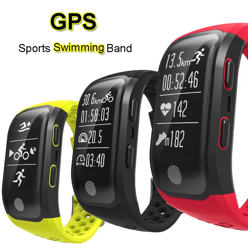 GPS Sports Smart Band IP68 Waterproof Swimming Wristband Bluetooth Heart Rate Monitor Fitness Tracker Measure Mileage S908 Watch sports fitness tracker smart watch bracelet i7 bluetooth 4 0 wristband waterproof health heart rate monitor