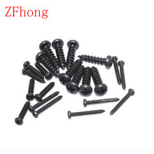 500pcs Self Tapping screw M1.7 M2 M2.3 M2.6 M3 phillips black round pan head Self Tapping Screws
