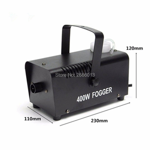 Image 4 - 400W Fog Machine For Halloween Party Wedding Stage Effect Wire Or Wireless Remote Control Mini Fog Machine Fogger Smoke Ejector