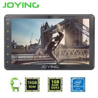 7 JOYING Single 1 DIN Android 6 0 1024 600 GPS Navigation Universal Car Radio Stereo