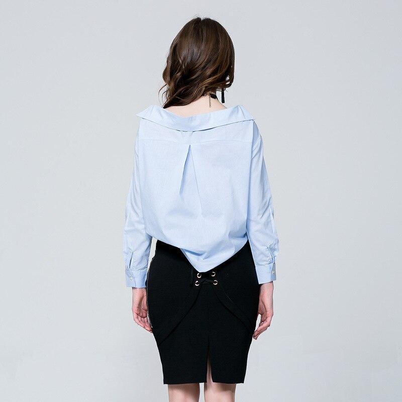 Occasionnelle De allumette Fashion Spring Longues Chemise Veste Baggy À Manches Nouveau Tout Col Paiya qA74O76