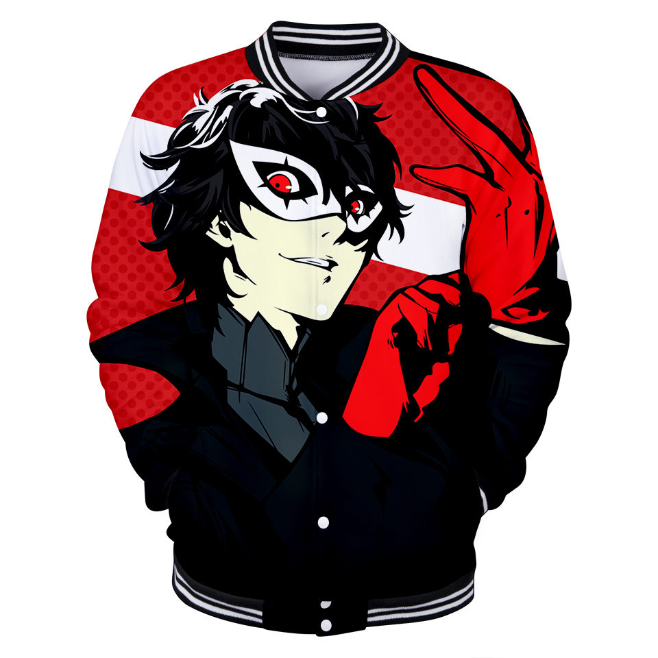 2019 latest high quality goddess different smell 5 3D baseball uniform men women sunshine anime style 3D baseball jacket clothes in Jackets from Men 39 s Clothing
