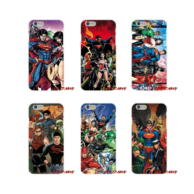 premium selection 95996 5f595 US $0.99  Justice League DC Comics Green Arrow Slim Silicone phone Case For  iPhone X 4 4S 5 5S 5C SE 6 6S 7 8 Plus-in Half-wrapped Case from ...